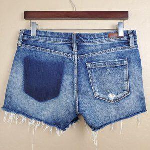 Blank NYC Distressed Cutoff Hiker Denim Shorts